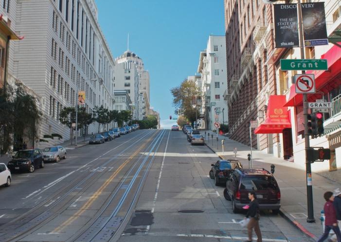 Grant Street. San Francisco