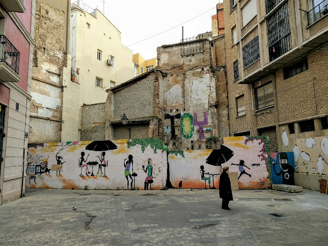 A Graffiti in Valencia
